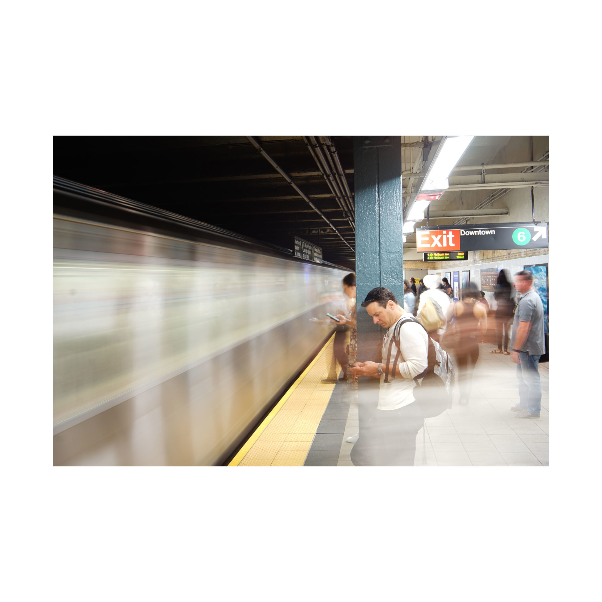 NYC Sub (long pose)